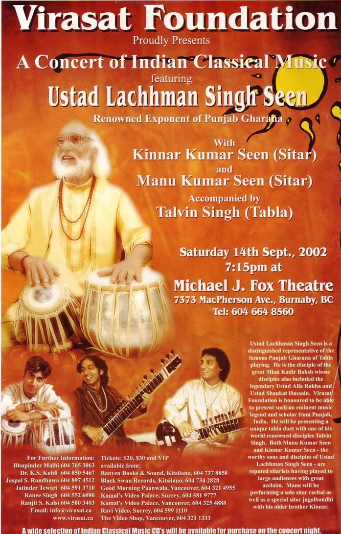 Concert – September 2002